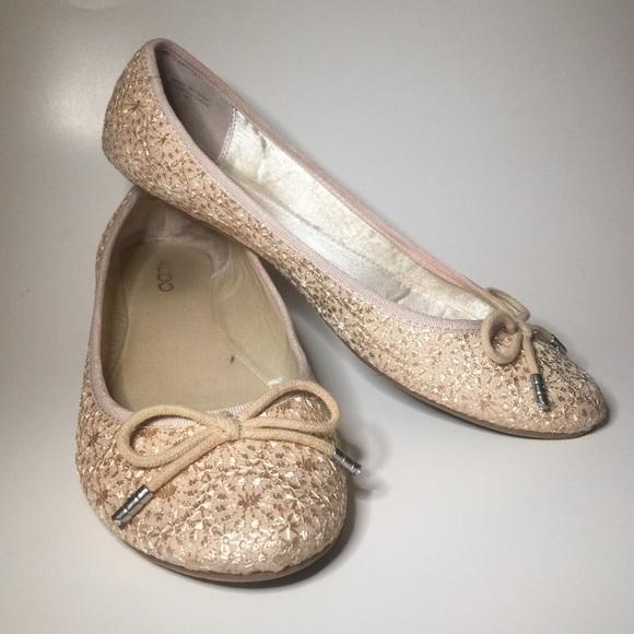 fed234edd63 ALDO Shoes - ALDO BEIGE BALLERINA FLATS  40