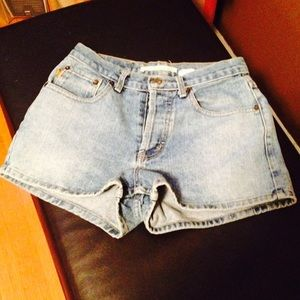 Asphalt Pants - Jean Shorts