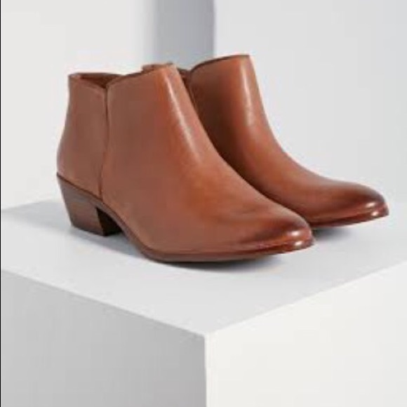 31dc56cc8 Brand new Sam Edelman chestnut colored ankle boots