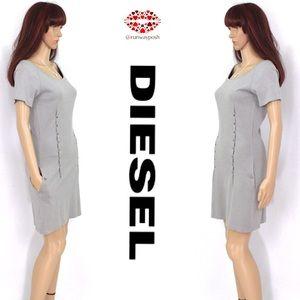 Diesel Dresses & Skirts - 🌟HP⭐️NWOT. DROPPED POCKETS DRESS