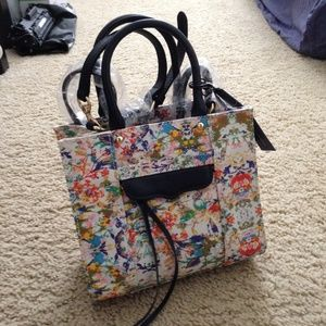Rebecca Minkoff Handbags - Rebecca Minkoff Multi Color Mini MAB Tote Bag