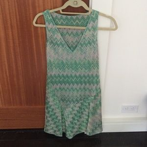 Missoni Green Cocktail Dress With Slip Size 38