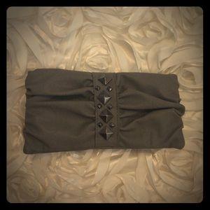 Grey studded wallet NWOT