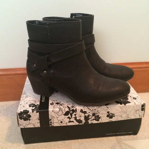 26% off White Mountain Boots - Cute Black Ankle Boots from Amber's ...