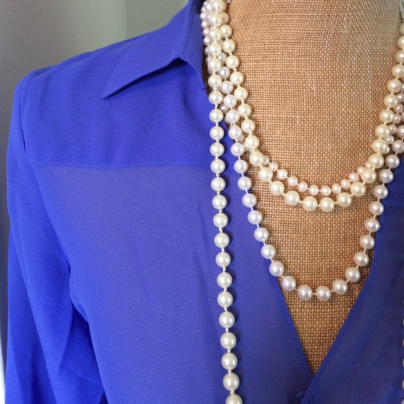 Periwinkle Blouses 50