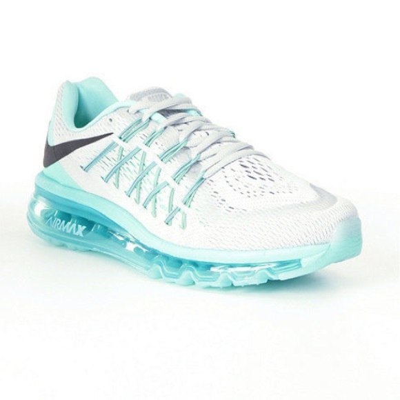 lowest price be61d 71319 NWB Women s Nike Airmax 2015 in Tiffany Blue