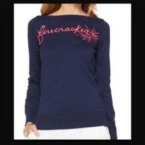 Lilly Pulitzer Tops - 🆕LISTING! NWT Lilly Pulitzer Firecracker sweater