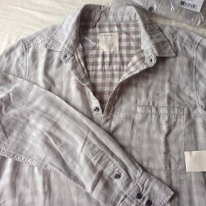 Life after denim Other - Double faced men's shirt in a light weight cotton