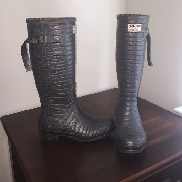 73501840ca1 Hunter Boots - Hunter x Jimmy Choo Limited Edition Rain Boots