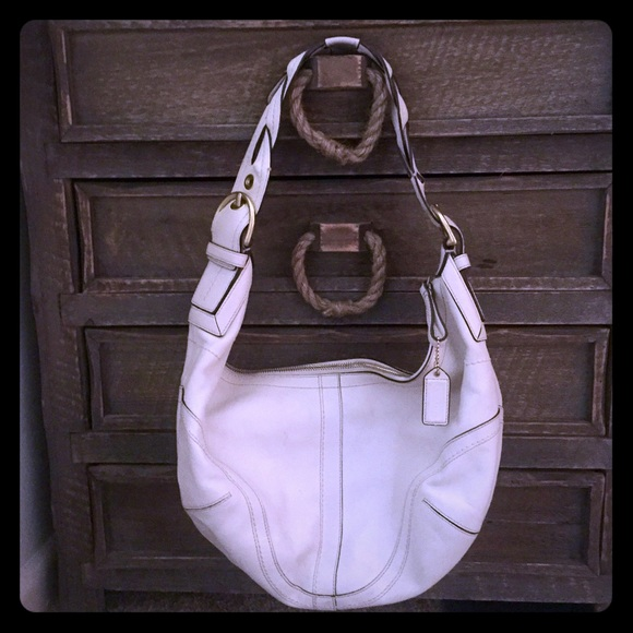46516d876acac Coach Hobo Bag - Braided Handle