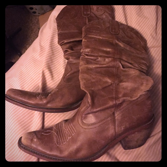 42% off Steve Madden Shoes - Steve Madden Western boots from ...