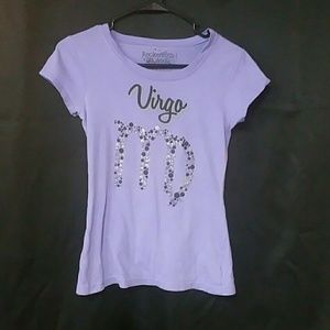Purple Virgo t shirt