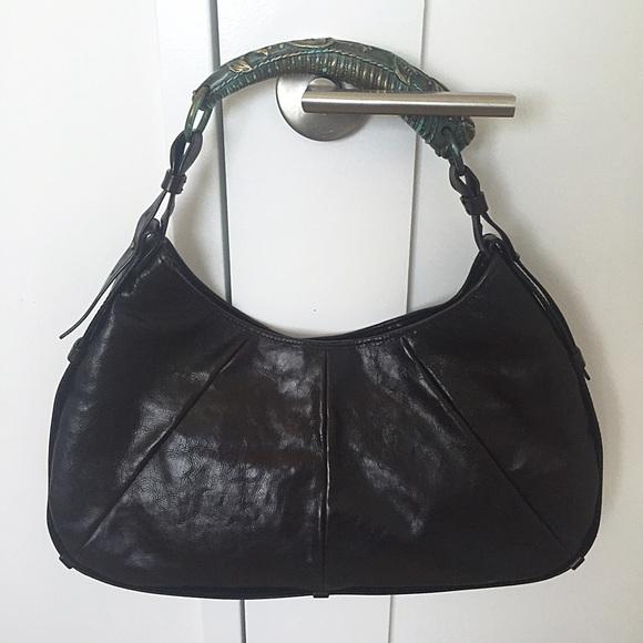 883136d5ee5 Yves Saint Laurent Bags | Ysl Mombasa Metal Detail Horn Handle ...