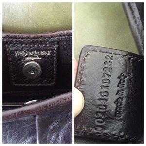 64% off Yves Saint Laurent Handbags - YSL Mombasa Metal Detail ...