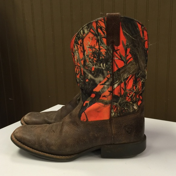 Ariat - Camo Ariat Boots Boys/Men's from Colleen's closet on Poshmark