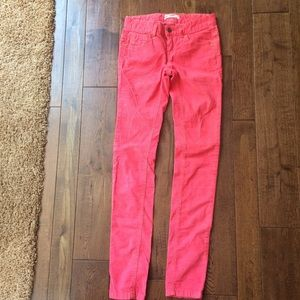 Pink Corridor pants from free people