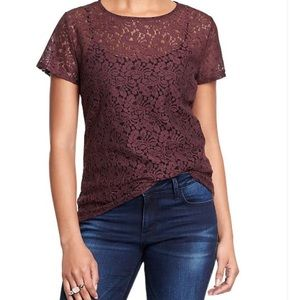 Old Navy Tops - Old Navy Lace Top