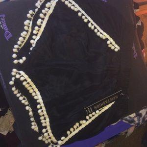 NWT black shorts