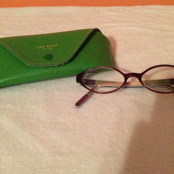 Kate Spade Tortoise Shell Eyeglass Frames : 90% off kate spade Accessories - Kate Spade brown tortoise ...