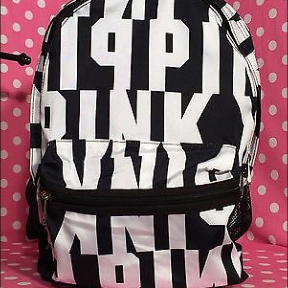 PINK Victoria's Secret - Brand New VS LOVE PINK Campus Backpack ...
