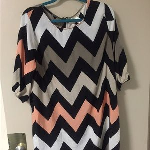Dresses & Skirts - Chevron dress!