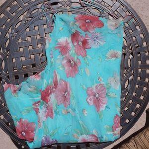 Lauren by Ralph Lauren summer silk dress