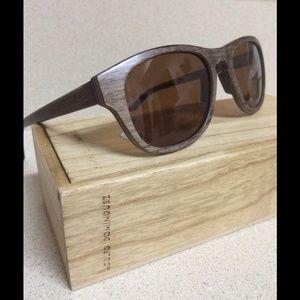 Adolfo Dominguez Accessories - Adolfo Dominguez Handmade Wooden Sunglasses