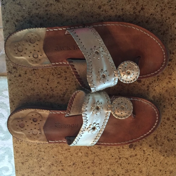 e3601574cd7e Jack Rogers Shoes - Authentic Jack Rogers Hampton sandal Platinum