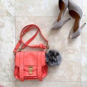 Proenza Schouler Handbags - 🎉 HP 🎉 Proenza Schouler PS1 Pouch in Grapefruit
