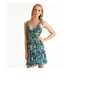 BCBGeneration Floral Knotted Strap Dress NWT