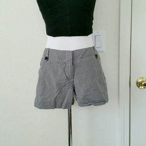 Theory Other - Theory black and white checkered shorts