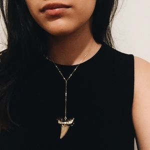 RESERVED✨Shark Tooth Necklace