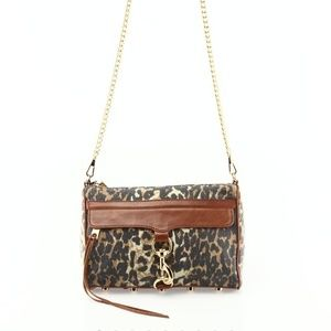 NWT Rebecca Minkoff cheetah MAC bag!