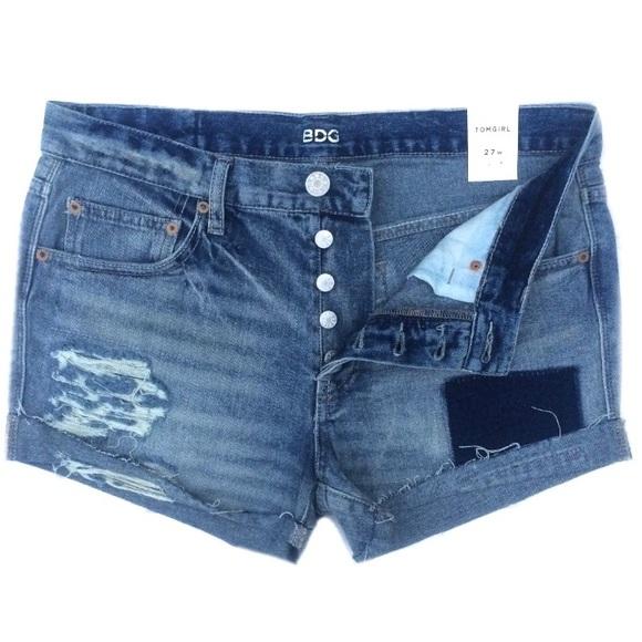 dd657ca8f9e8 NWT BDG Urban Outfitters Tom Girl Denim Shorts
