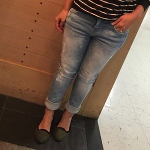 "7 for all Mankind Denim - 7 for all mankind ""Josefina"" skinny boyfriend"