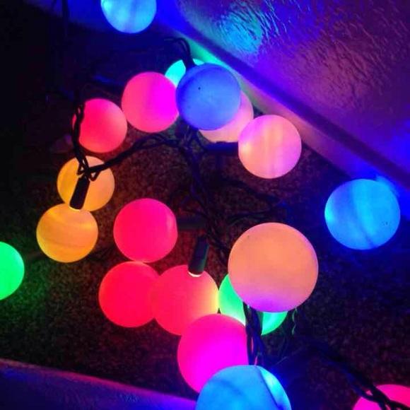 Ping Pong Ball Lights