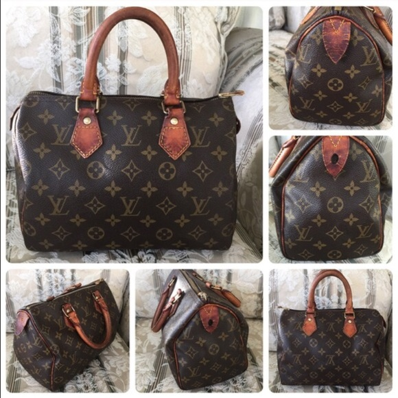 13bc395e6b85 Louis Vuitton Handbags - Louis Vuitton bag vintage speedy 25
