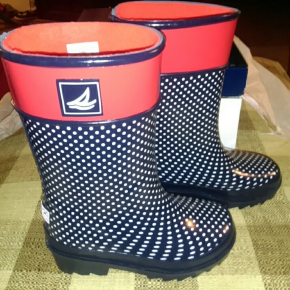 Sperry - SALE NIB SPERRY TOP-SIDER Toddler RAIN BOOTS SZ 9 from ...