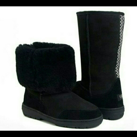 54 Off Ugg Shoes Ugg Ultra Tall 5245 Black From