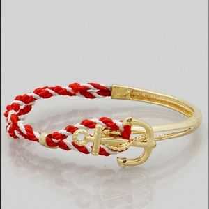 Jewelry - 🍉 Red Rope Anchor Bracelet