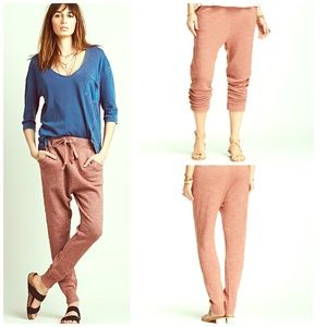 Free People Pants - Free People Print NWT Joggers Culottes