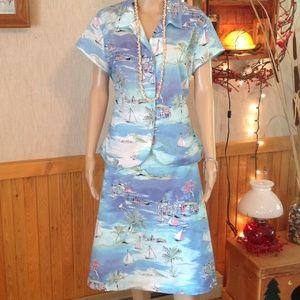 Emma James Dresses & Skirts - Summer Theme Light Weight Skirt Set by Emma James