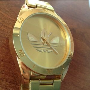 es inutil maldición Implementar  Adidas Accessories | Brand New Gold Watch | Poshmark