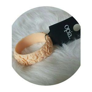 Topshop Floral Bangle - Bracelet