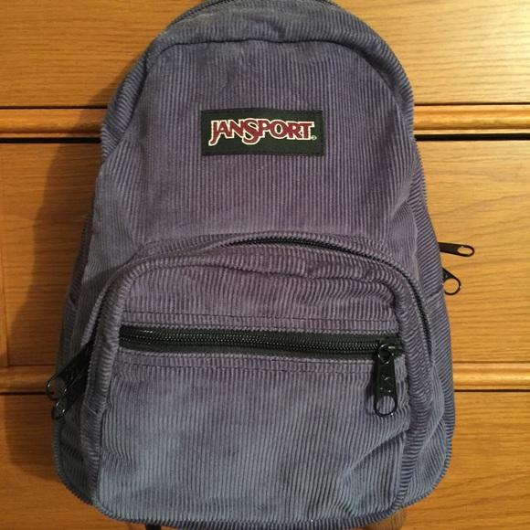 a0756ecccb31 Jansport Handbags - HOLD - Jansport Half-Pint Corduroy Mini Backpack
