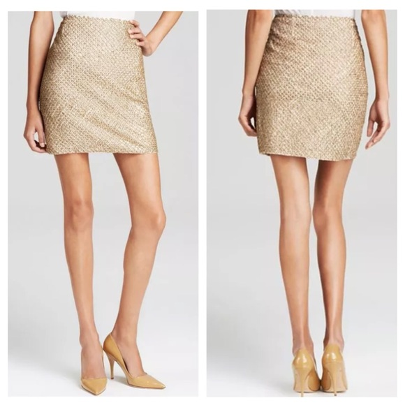 77% off Joie Dresses & Skirts - Joie Bricia Antique Gold Beaded ...