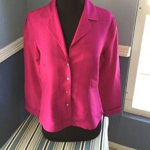 Pink business shirt