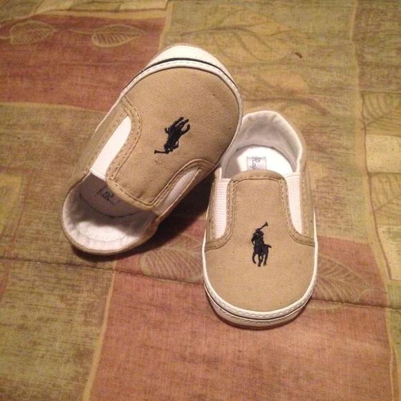 off Ralph Lauren Shoes Ralph Lauren baby slip on