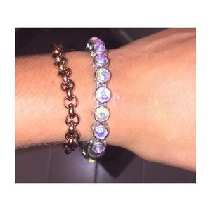 Charming Charlie Jewelry - Charming Charlie's Crystal Bangle 💎