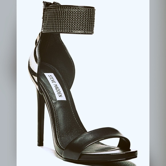 d99e4800084 Steve Madden zebra heels  closet clear out sale
